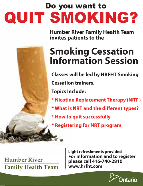 Quitting smoking support groups